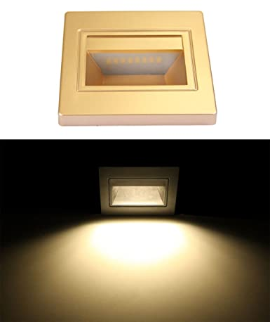 Oweisong contemporary newest led recessed wall lamp smd5730 epsitar oweisong contemporary newest led recessed wall lamp smd5730 epsitar chip led step stair guide lights 15 aloadofball Images