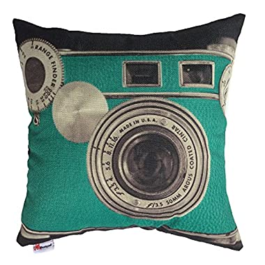 Monkeysell 3D printing various types of Vintage Camera Home Throw Pillow Case Personalized Cushion Sofa Home Decor Design Throw Pillow Case Cushion Covers Square 18 Inch (3)