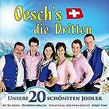 Unsere 20 schönsten Jodler; Ku-Ku Jodel; Wir sind eine Jodelfamilie; Ich schenk dir einen Jodler; Jodeln ist cool; Solojodler; Vom Berg hallt ein Jodler; Swiss Girl; Ich lieb die Berge meiner Heimat; Mein Jodler kommt von Herzen; Die Jodelsprache;