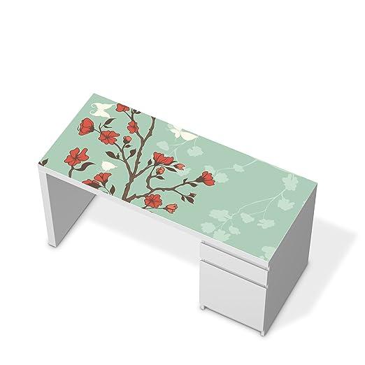 Adhesivo pegatinas de papel de aluminio pintado para IKEA malm ...