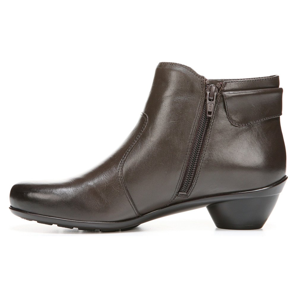 Naturalizer Women's Haley Boot B00UVA2H2I 8.5 W (C)|Oxford Brown Leather