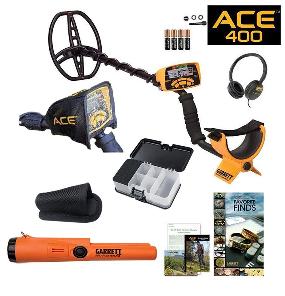 Livre Box Garrett Ace 400 Détecteur de métal Anniversaire spécial avec Pro pointeur à