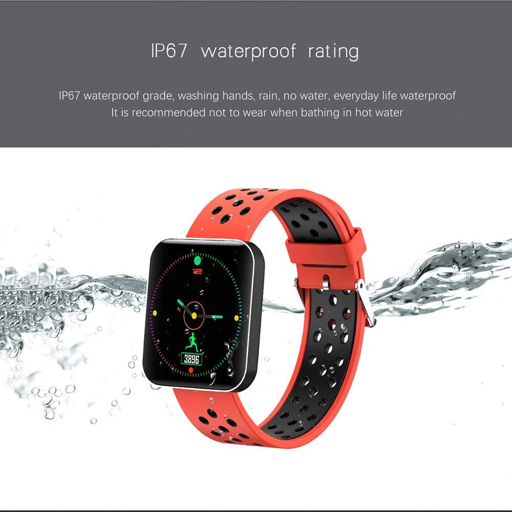 Amazon.com: S88 Men Women Smart Watch Reloj Inteligente ...