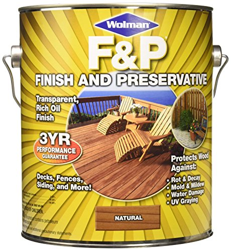 Rust-Oleum Wolman F&P 14396 Natural Finish and Preservative ()