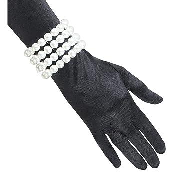 20amp; Toys Raffiné Net Perles Années De 30Blanc Bracelet rCBdxeWo