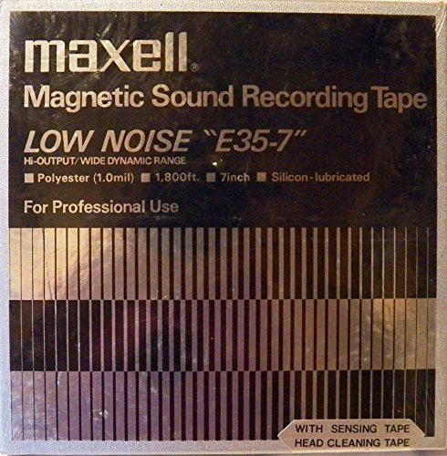 MAXELL Magnetic Sound Recording Tape E35-7 by Mawell