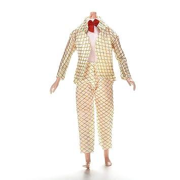 Amazon.com: Ropa Ken Doll – 1 juego de muñeca masculina ...