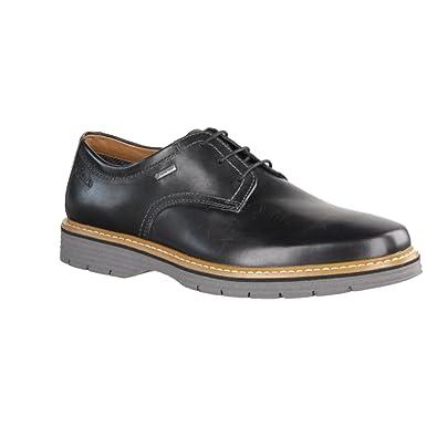 Spielraum uk billig verkaufen elegante Schuhe Clarks Sportlich-Elegant Herren Newkirk Go Gore-Tex® Leder Halbschuhe In  Schwarz