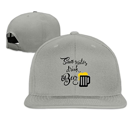 33a51794b24 Amazon.com: Maurm Save Water and Drink Beer Baseball Caps Trucker ...