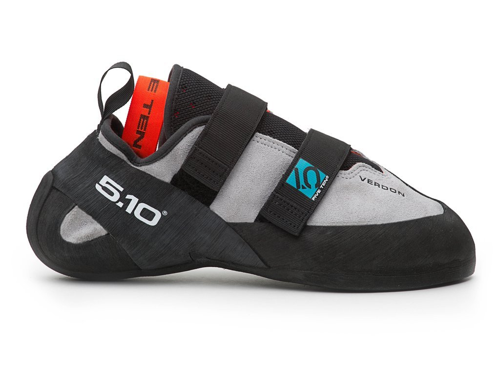 Five Ten Verdon VCS Men's Climbing Shoes (Grey, 7) by Five Ten