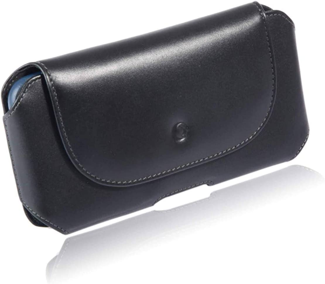 monsoon [Mohawk] Genuine Leather Case Holster with Belt Clip for for iPhone 12 / iPhone 12 PRO / iPhone 11 / XR - fits 6.1
