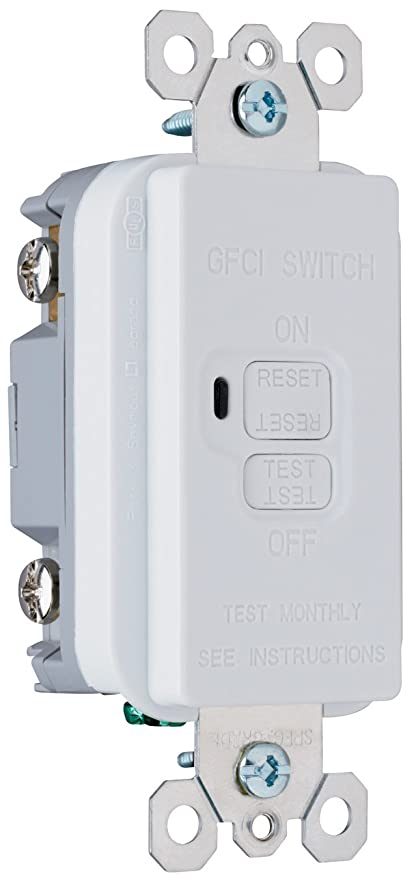 Legrand-Pass & Seymour 1597GRYCCD12 Gfci Receptacle 15-Amp 125-volt ...