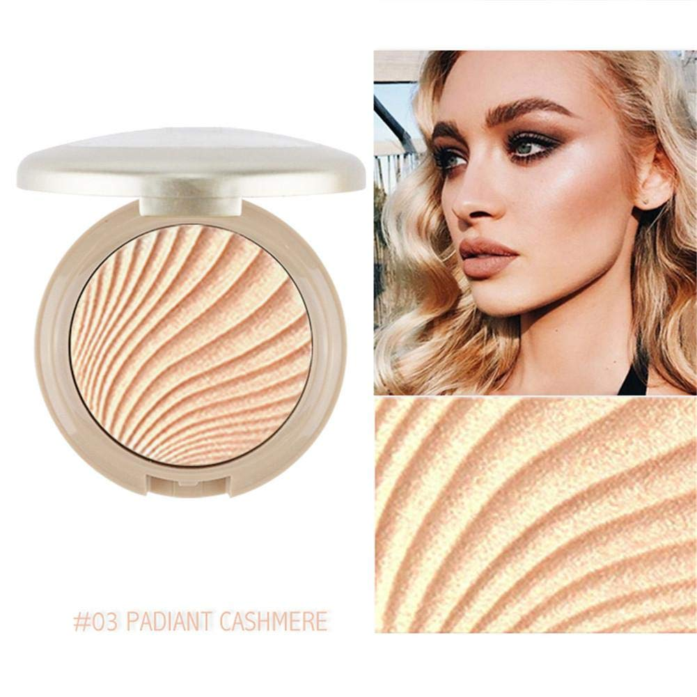 High Lighter Powder, aikimuse Back polvo 3d polvo brillo Highlighter palé Matte brillo bronzer Contour Make Up – Polvo colinsa