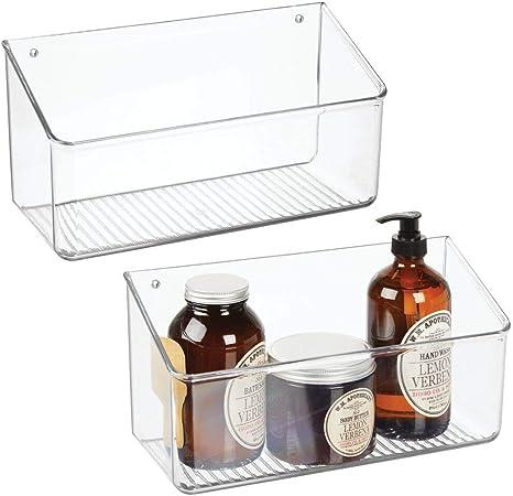 Kitchen Bathroom Shelf Wall-mounted Home Organization Hanging Storage Baskets