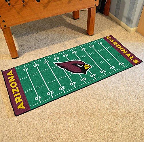 L Floor Runner (29.5x72) (Cardinals Runner Mat)