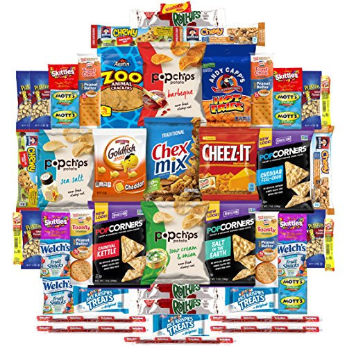 Ultimate Snacks Care Package (50 Count)
