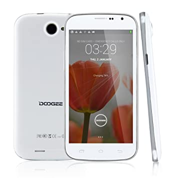 DOOGEE DISCOVERY2 DG500C Blanco Unlocked Movil 3G Con Pantalla de ...