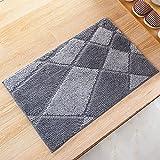 Door mat door mat door bathrooms in the Hall toilet bathroom mat absorbent bathroom mat rug mat Quality grey