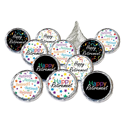[Retirement Party Decorations Favor Stickers for Hershey Kisses (Set of 324)] (Decoration Ideas Party)