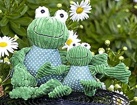 hugglehounds peluche pana Durable Knotties rana knottie, pequeño: Amazon.es: Productos para mascotas