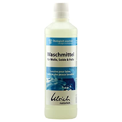 Ulrich natürlich, Waschmittel für Wolle, Seide, Felle rückfettend