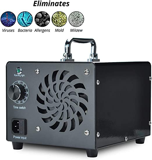 Generador de ozono Podazz, comercial 10000mg / h 80W O3 Máquina ...