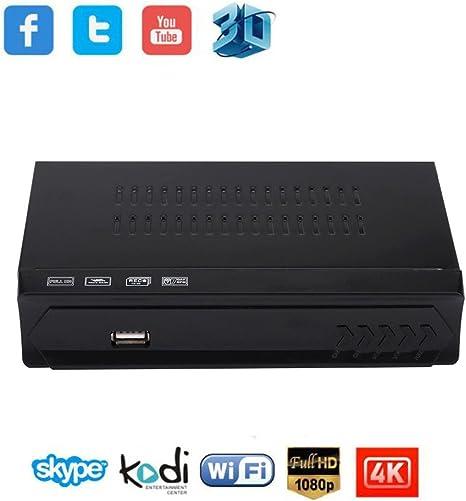 Wifi LAN Smart TV Box, Digital Satellite + WiFi IPTV receptor ...