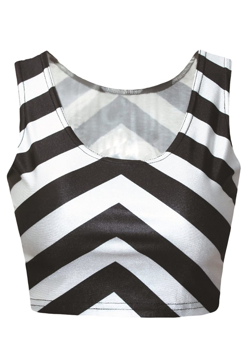 Black and white stripes two piece digital skater skirt and tank black and white stripes two piece digital skater skirt and tank tops for women at amazon womens clothing store dhlflorist Gallery