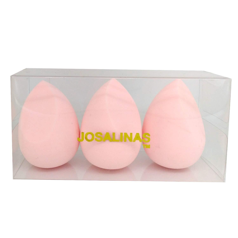 JOSALINAS Makeup Blenders Sponges 3 Pack for Foundations, Powders & Cream Blending, Pink