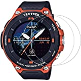 Zshion for CASIO Pro Trek WSD-F30 Screen Protector,9H Hardness Tempered Glass Screen Protector for CASIO WSD F30 with Anti-fi