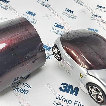 5ft x 10ft 3M 1080 GP99 GLOSS BLACK ROSE METALLIC Vinyl Car Wrap Decal Sticker