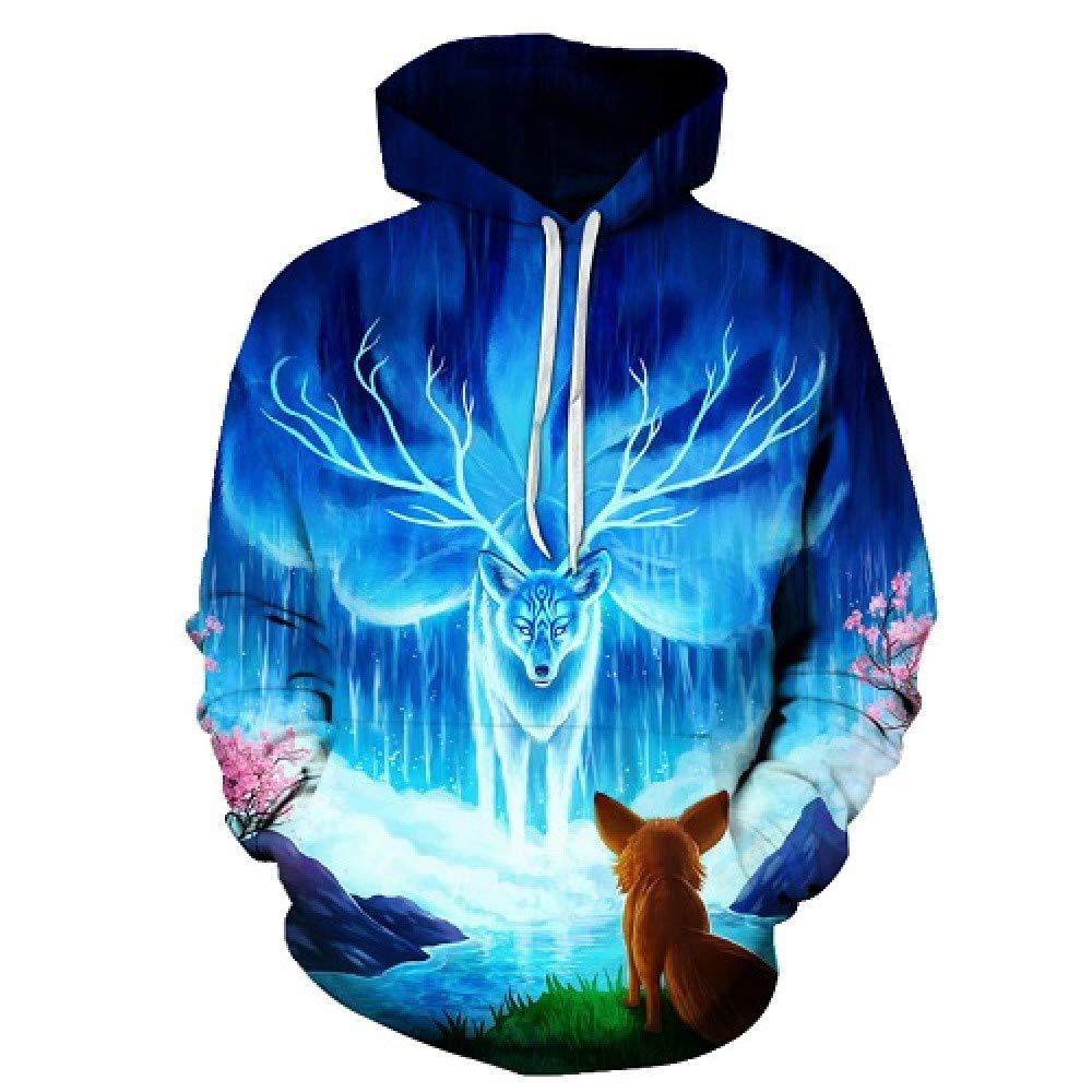 GUQIYA 3D Hoodies Sweatshirts Lässige Hoodie Pullover Männliche Trainingsanzüge