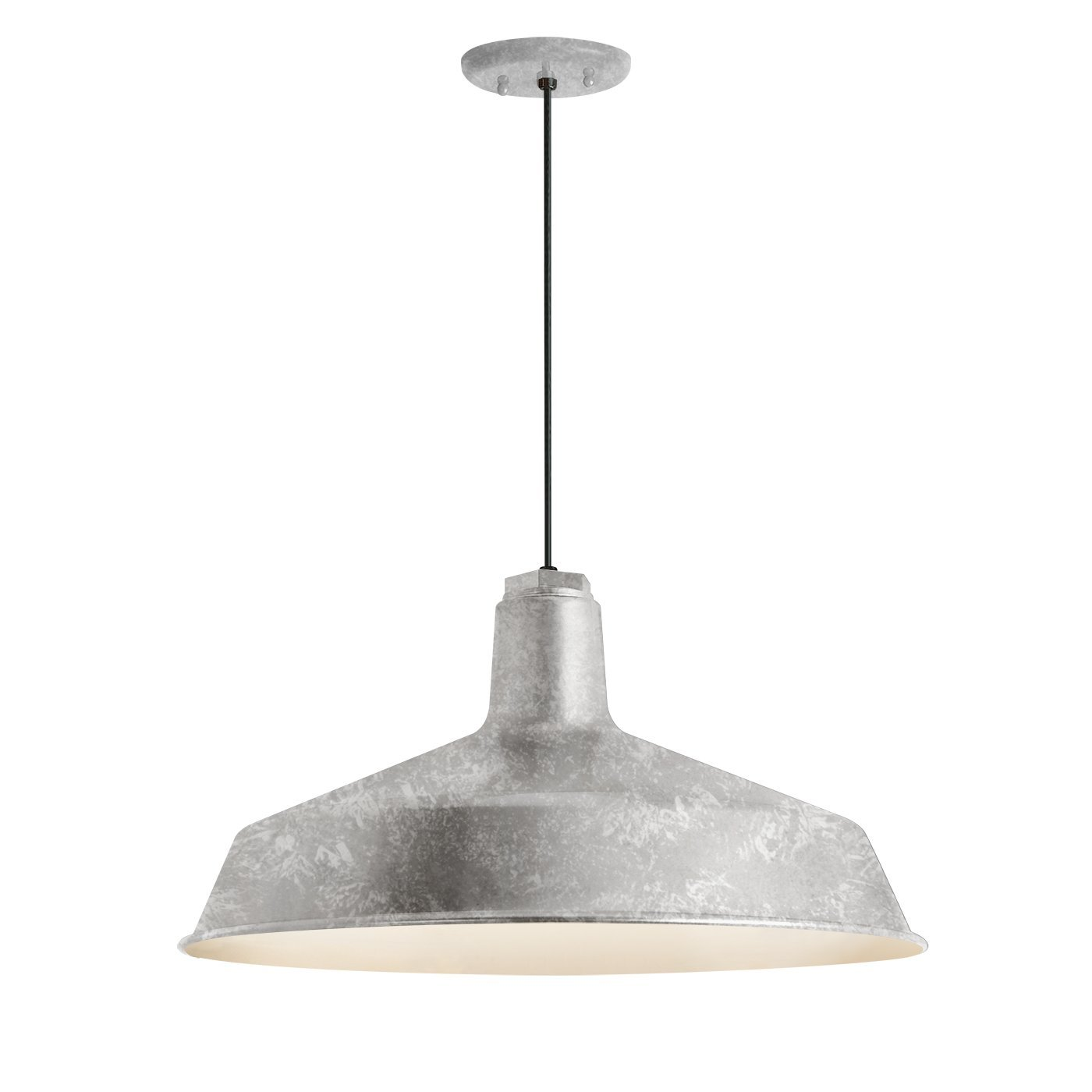 Troy RLM 5DRS16MGA-BC Standard Outdoor Pendant, Galvanized by Troy RLM