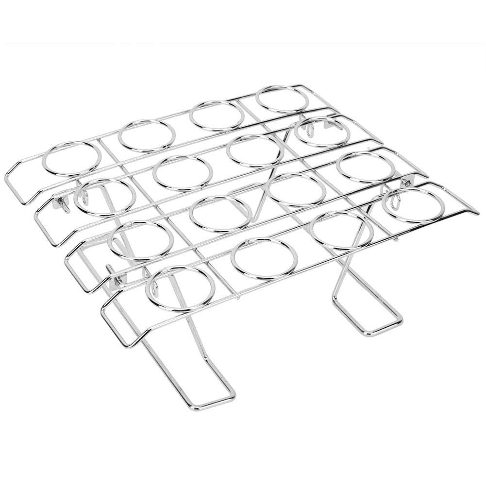16 Slots Folding Ice Cream Display Cooling Rack Holder for Baking Cake Cupcake by Wifehelper (Image #1)