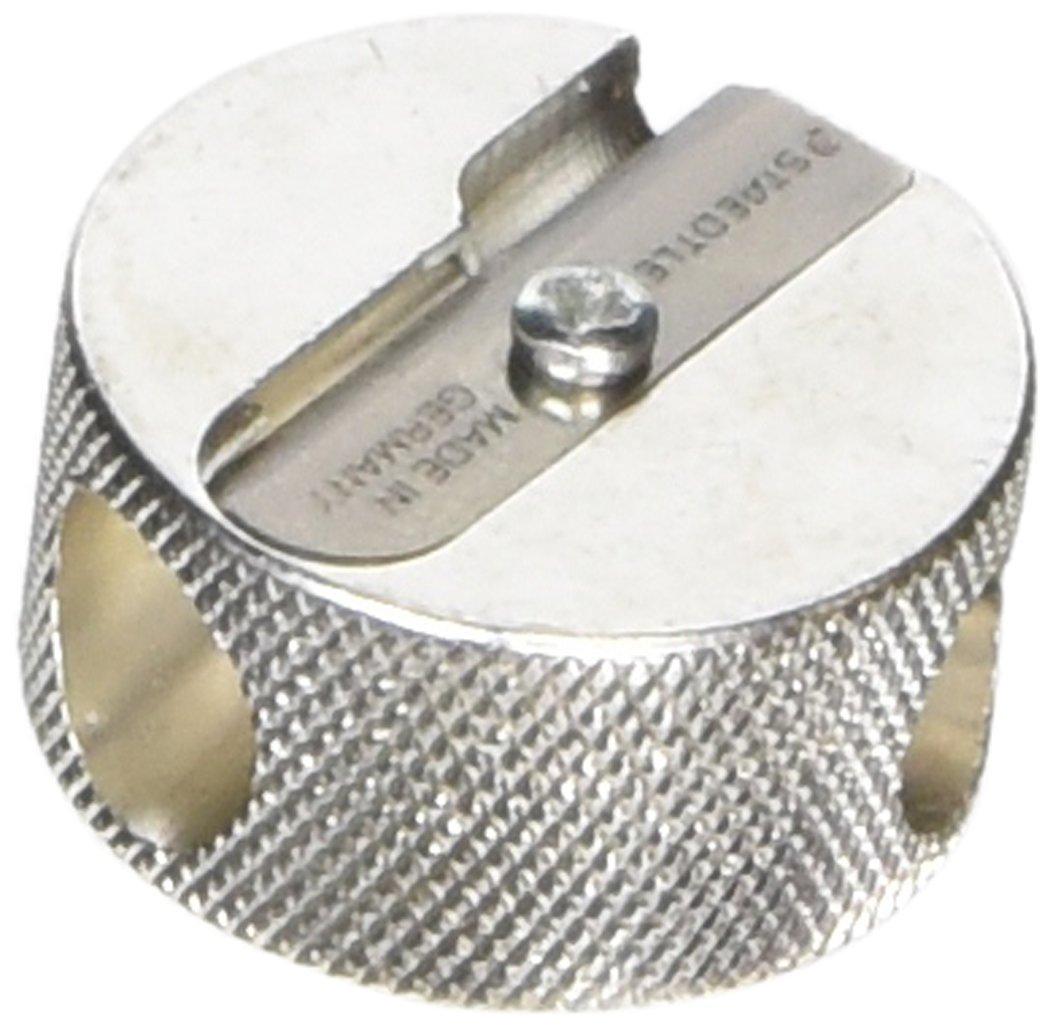 Staedtler Plata 510 25C metálica Marte doble afilador hecha de magnesio, 20 piezas en caja de cartón,: Amazon.es: Oficina y papelería