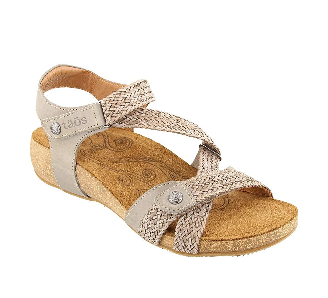 df5f27534a5cf TAOS Womens Trulle Leather Open Toe Casual Ankle Strap Sandals   Amazon.co.uk  Shoes   Bags