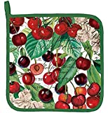 Michel Design Works Cotton Potholder, Black Cherry
