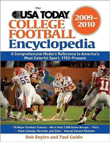 The Usa Today College Football Encyclopedia 2009 2010 Bob Boyles