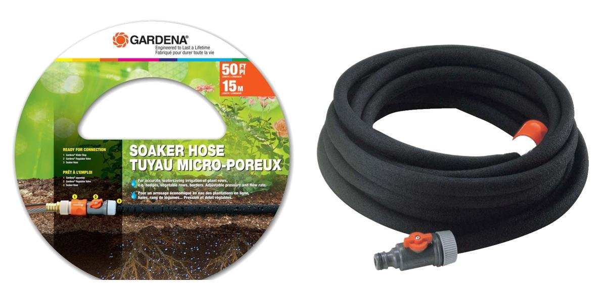 Amazon.com Gardena 1969-U 50-Foot Recycled Rubber Soaker Hose Garden u0026 Outdoor  sc 1 st  Amazon.com & Amazon.com: Gardena 1969-U 50-Foot Recycled Rubber Soaker Hose ...