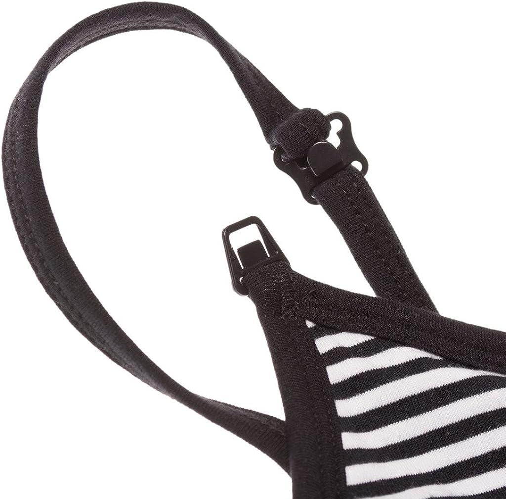 Intimate Portal Damen Baumwoll-Basics Schwangerschafts-//Still-Hemd mit Hakenverschluss