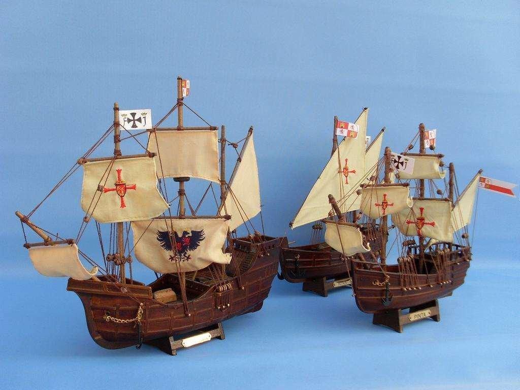 Hampton Nautical  Pinta Tall Ship, 12'' by Hampton Nautical