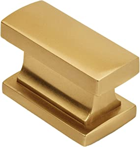 """25 Pack - Cosmas 701GC Gold Champagne Contemporary Cabinet Hardware Knob - 1-7/16"""" Length"""