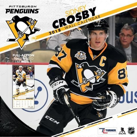 Pittsburgh Penguins Sidney Crosby 2018 Calendar