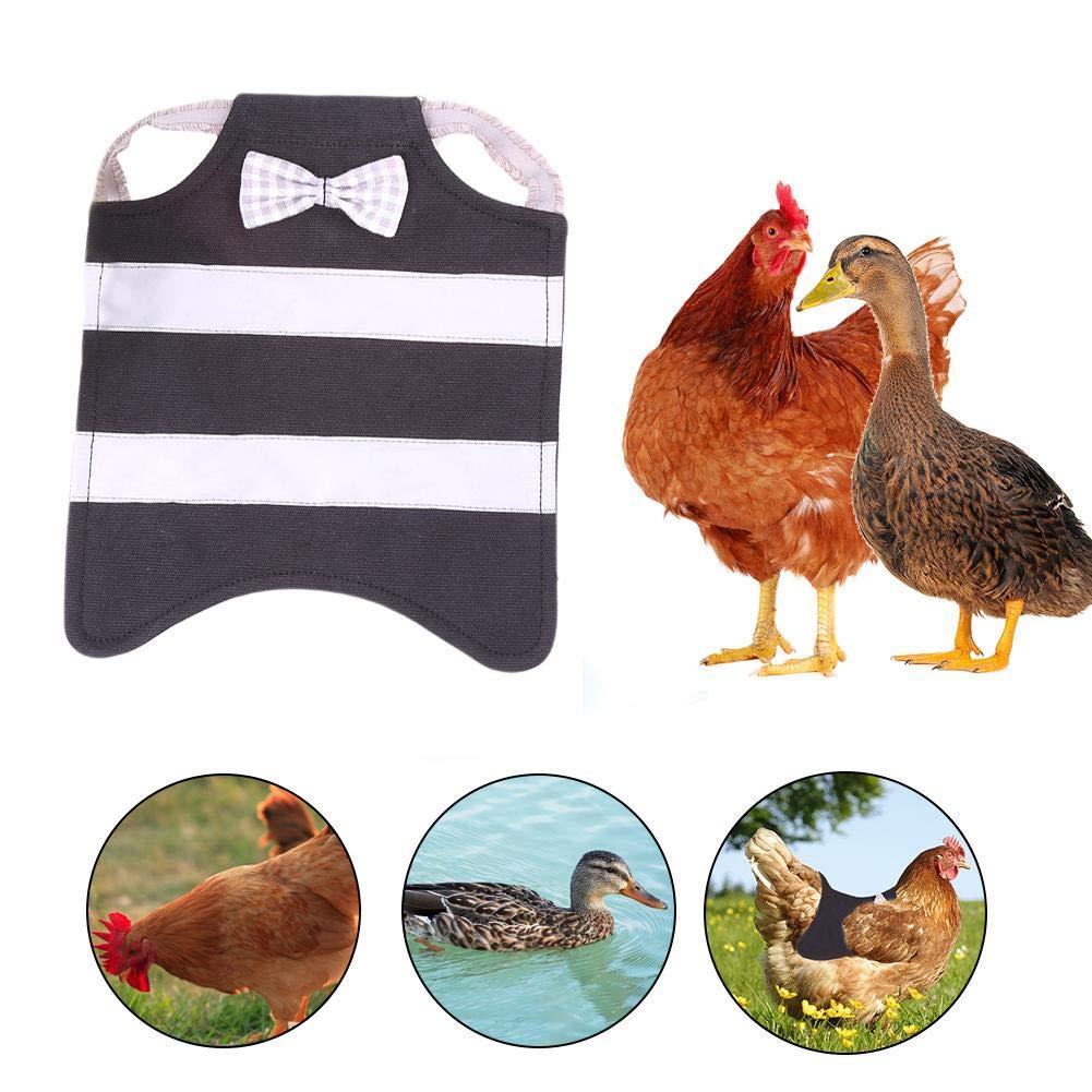 Ingeniously Pet Reflective Vest Cotton H/ühnersattel H/ühnersachen Gefl/ügel H/ühnersattel Sch/ürze Wing R/ückenprotektor f/ür Gefl/ügelfederschutz Halter f/ür Huhn und Ente