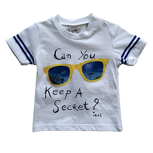 c93ca9777 Image Unavailable. Image not available for. Color: IKKS Baby Boy Big  Sunglass Tee Shirt ...