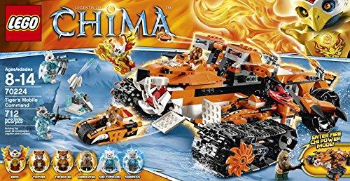 LEGO Chima Tigers Mobile Command Block