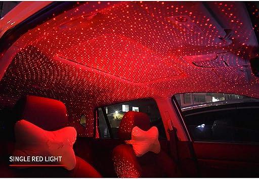Universal Usb Mini Auto Decke Starlight Projection Led Licht Auto Atmosphäre Lampe Innenraum Ambient Star Light Auto Und Haus Decke Romantische Usb Nachtlicht Mit Fernbedienung Küche Haushalt