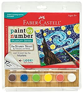 Faber-Castell 14301 Paint by# Museum Series - The Starry Night Playset
