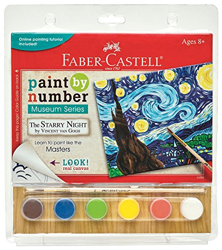 Faber Castell 14301 Paint by# Museum Series - The Starry Night Playset -