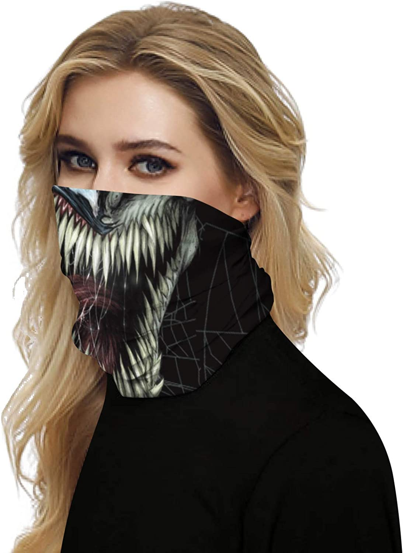 Multifunction Seamless Bandanas for Men Women Face Mask Head Wraps Balaclava Neck Gaiter Windproof Anti Dust Style